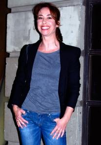 That's better! Actress Sophie Gråbøl
