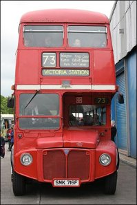 The 73. My bus to work. From Stoke Newington to Marylebone High Street. From the ridiculous to the sublime.