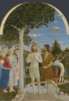 Piero Della Francesca Baptism of Christ