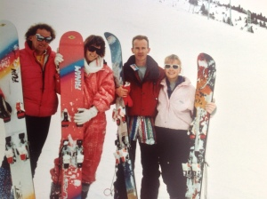 SCHOOL SKI TRIP Unknown Ski Guide, Lucy, Self and J. Harwood