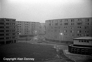 Hulme. Crescent Estate 1978