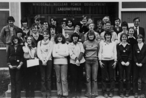Some of the team. John Warbrick back row third from right