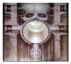 The great H R Giger's sleeve design for ELP's 'Brain Salad Surgery'