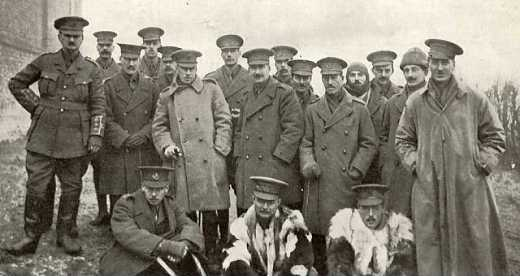 Officers of the KSLI Feb 1915