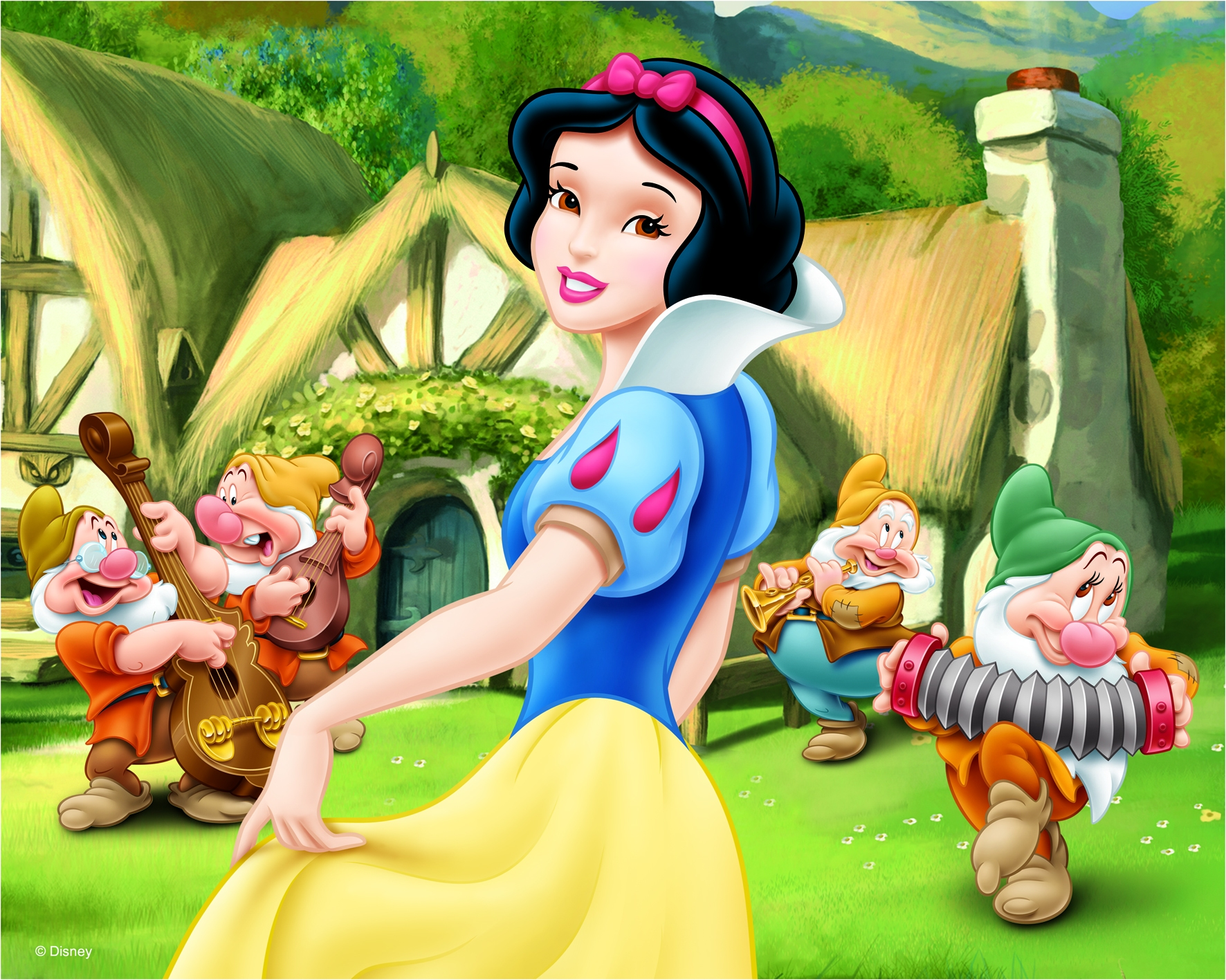 snow white does but walt disney sitting comfortably. Black Bedroom Furniture Sets. Home Design Ideas